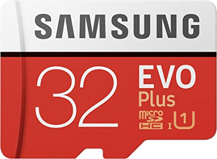 Samsung Memorie MB-MC32GA EVO Plus Scheda microSD da 32 GB, UHS-I U1, con Adattatore SD