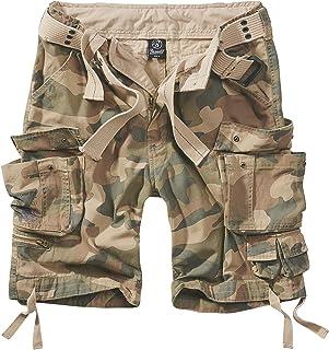 King Kérosène Vintage Motard Cargo Short Pantalon Court-Bermuda camouflage