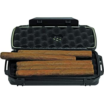 Air Tight Anti Crush Smell Proof Cigar Travel Humidor