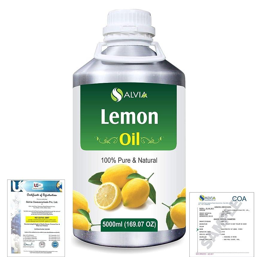 フレア絶縁する検査官Lemon (Citrus limonum) 100% Natural Pure Essential Oil 5000ml/169fl.oz.