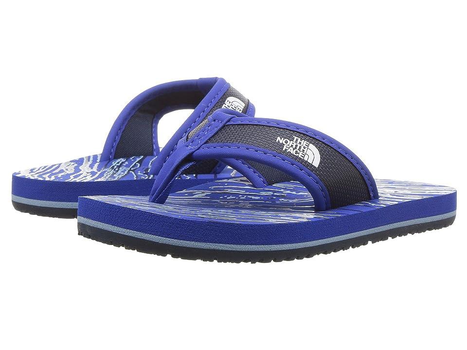 The North Face Kids Base Camp Flip-Flop (Toddler/Little Kid/Big Kid) (Turkish Sea/Cosmic Blue (Prior Season)) Kids Shoes