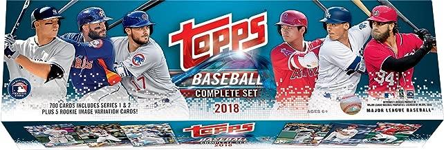 2018 topps baseball complete set