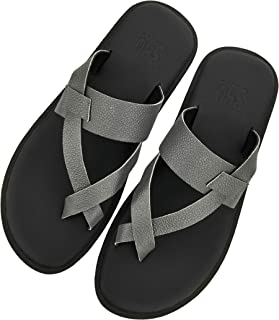 SKO - and Comfortable Leather Sandals for Men - Silver