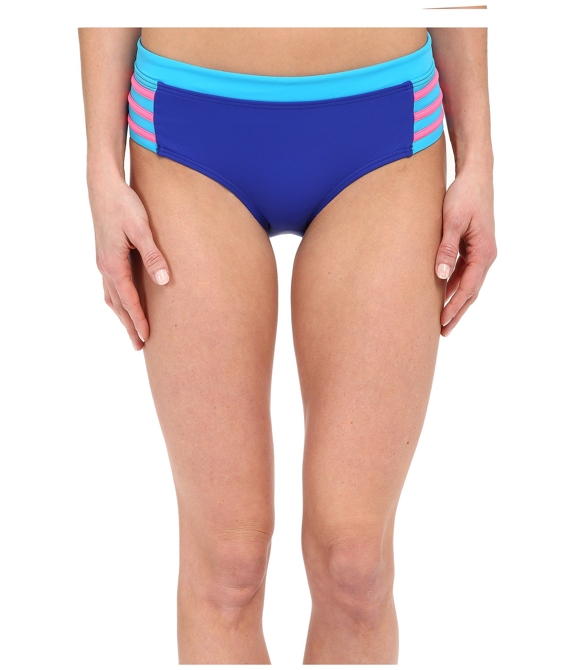 Bikini para Mujer DKNY A Lister Hipster Bottom w/ Stripping Detail  + DKNY en VeoyCompro.net