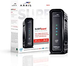 ARRIS Surfboard (32x8) Docsis 3.0 Cable Modem, Certified for Xfinity, Spectrum, Cox, Cablevision & More (SB6190 Black)