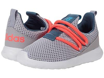 adidas Kids Lite Racer Adapt 3.0 (Toddler) (Glory Grey/Signal Pink/Signal Cyan) Kids Shoes