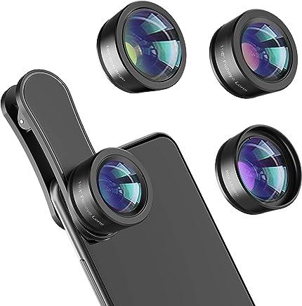 Phone Camera Lens,Upgraded 3 in 1 Phone Lens kit-198°...