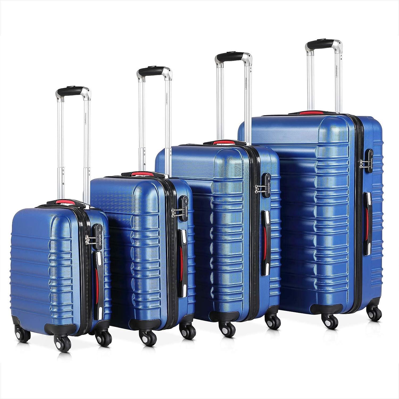 Monzana Set di valigie 4pz Baseline