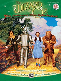 The Wizard of Oz: 70th Anniversary Edition for Fingerstyle Solo Guitar, Book & CD (Guitar Tab Editions)