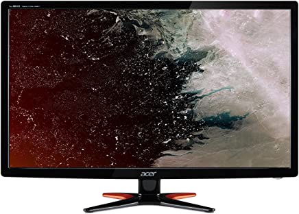 Acer GN246HLBbid 24 Inch FHD Gaming Monitor, Black (TN Panel, 1 ms, HDMI, DVI)