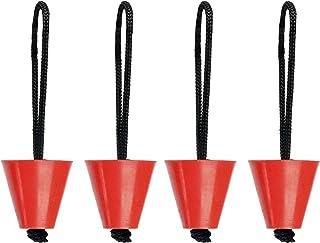 Amarine-made Pk 4 Universal Kayak Scupper Plug Kit (Hobie Kayaks, Native Kayaks, Wilderness Systems Kayaks, Feelfree Kayak...