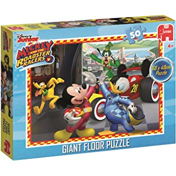 s Rompecabezas Rompecabezas para Suelo, Dibujos, Ni/ños, Minnie Mouse, Chica, 4 a/ño Jumbo Disney Minnie Giant Floor Puzzle