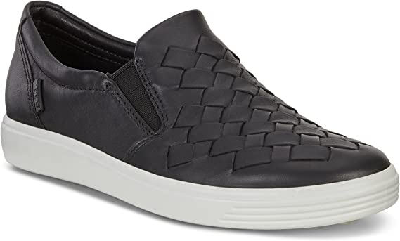 ECCO Women's Soft 7 Woven Slip on Fashion Sneaker