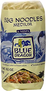 Blue Dragon Medium Egg Noodle Nests, 10.58 Ounce