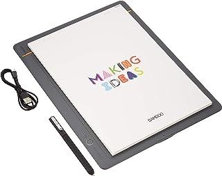 ワコム Wacom Bamboo Slate L A4対応 ミディアムグレー スマートパッド 電子ノート ボールペンで紙にメモやスケッチを書いてデジタル化  スマホ タブレット対応 CDS810S
