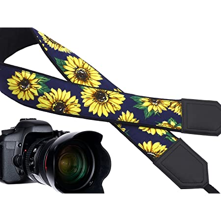 Faded Lines Camera Scarf Strap