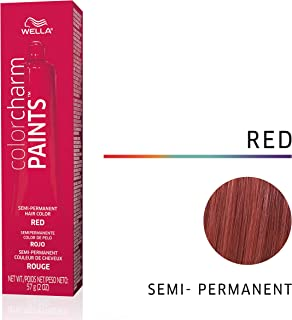 Wella Paints Red Semi Permanent Hair Color Red, 2 oz
