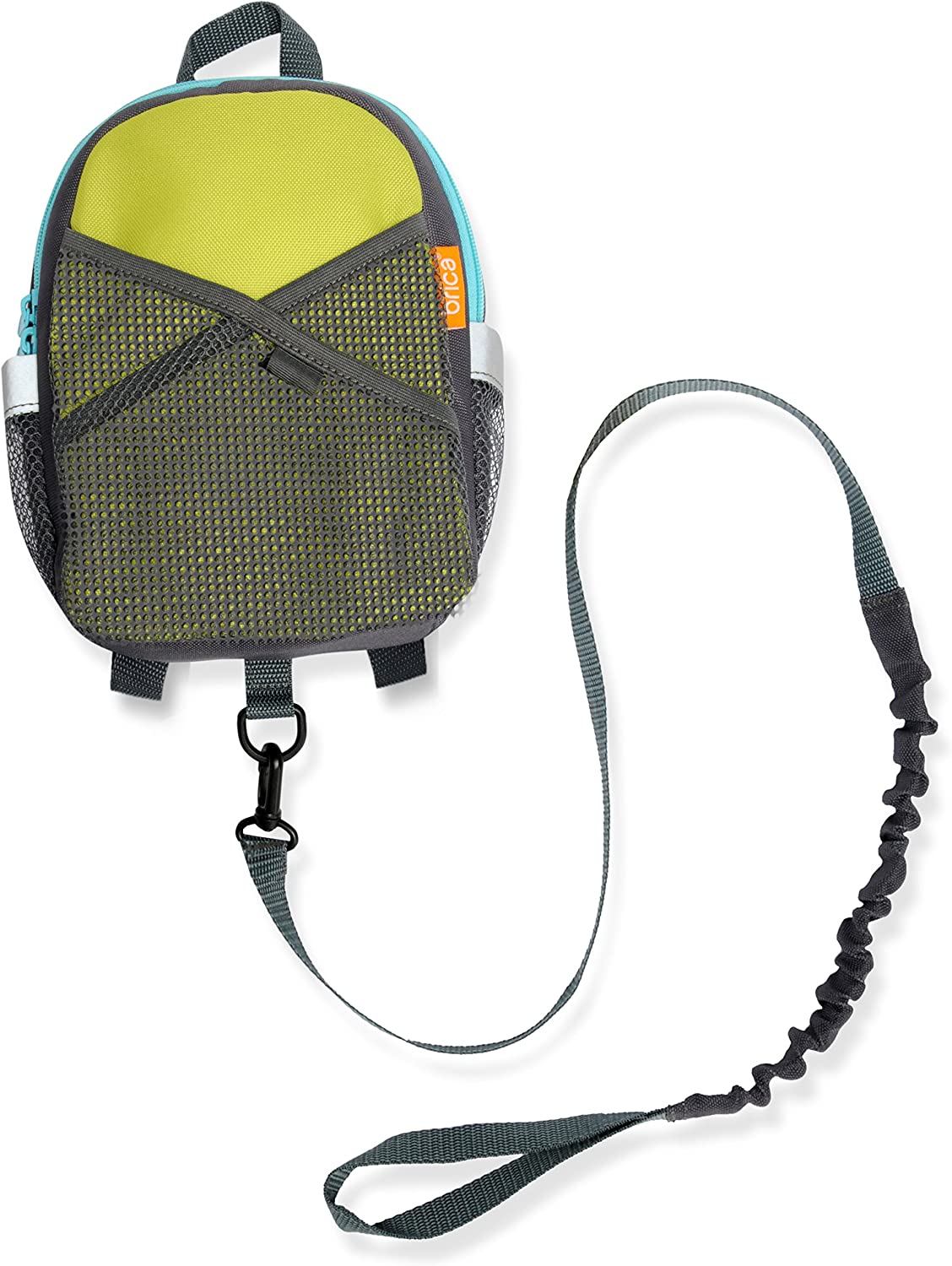 BRICA ByMySide Safety Harness Backpack, Green bluee