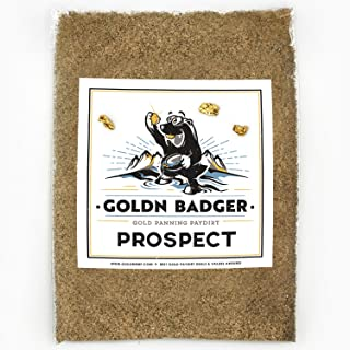 Goldn Badger Gold Paydirt 'Prospect' Panning Pay Dirt Bag – Gold Prospecting Concentrate