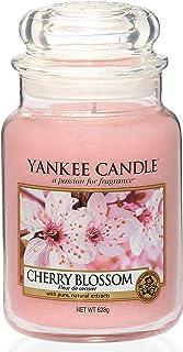 Yankee Candle bougie jarre parfumée | grande taille | Fleur de cerisier | jusqu'à 150 heures de combustion