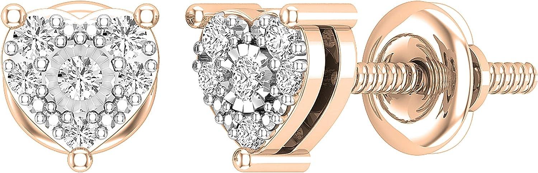 Award List price Dazzlingrock Collection 0.15 Carat ctw Round White Diamond Lad