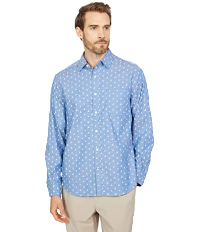 Nautica Classic Fit Sailboat Print Shirt