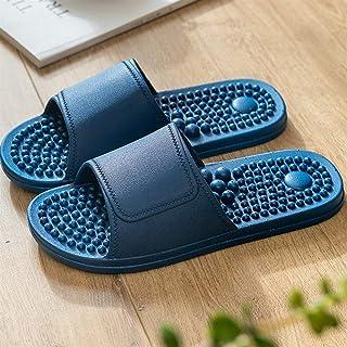 YAOLUU Summer Slippers Masaje del pie del Punto de acupuntura Sandalias y Zapatillas Mujer casa de Verano Cubierta Pareja ...