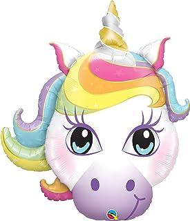 "Qualatex 38"" Magical Unicorn Balloon, Multicolor"