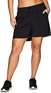 Active Women's Plus Size Relaxed Fit Breathable Ventilated Athletic Short