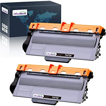 myCartridge Compatible Toner Cartridge Replacement for Brother TN750 TN-750 TN720 High Yield Use with Hl-5470Dw Hl-6180Dw Hl-5450Dn Mfc-8710Dw Mfc-8910DW Mfc-8950Dw DCP-8150DN DCP-8110DN 1 Black