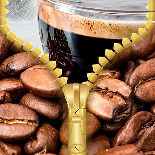 Kaffee Zipper Lock Screen
