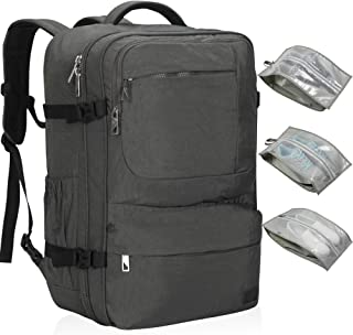 Hynes Eagle 44L Carry on Backpack Flight Approved Compression Travel Pack Cabin Bag