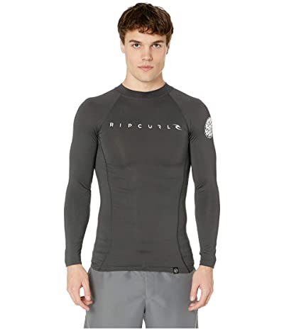 Rip Curl Dawn Patrol UV Tee Long Sleeve (Black Marle) Men