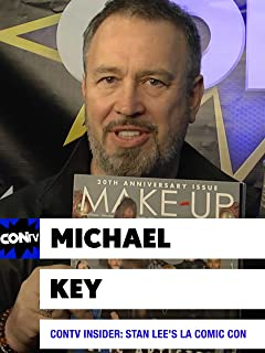 CONtv Insider: Stan Lee's LA Comic Con 2016 - Renowned Makeup Artist Michael Key