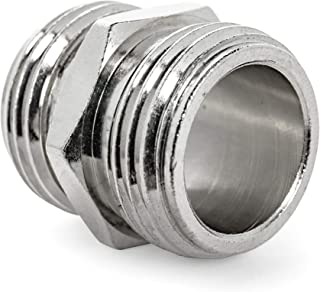 Camco Drinking Water Hose Coupling TastePURE Converts Standard Garden Fitting Into Male to Connect to Another Female (22705)