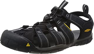 KEEN Australia Men's Clearwater CNX Trekking Sandal, Black/Gargoyle