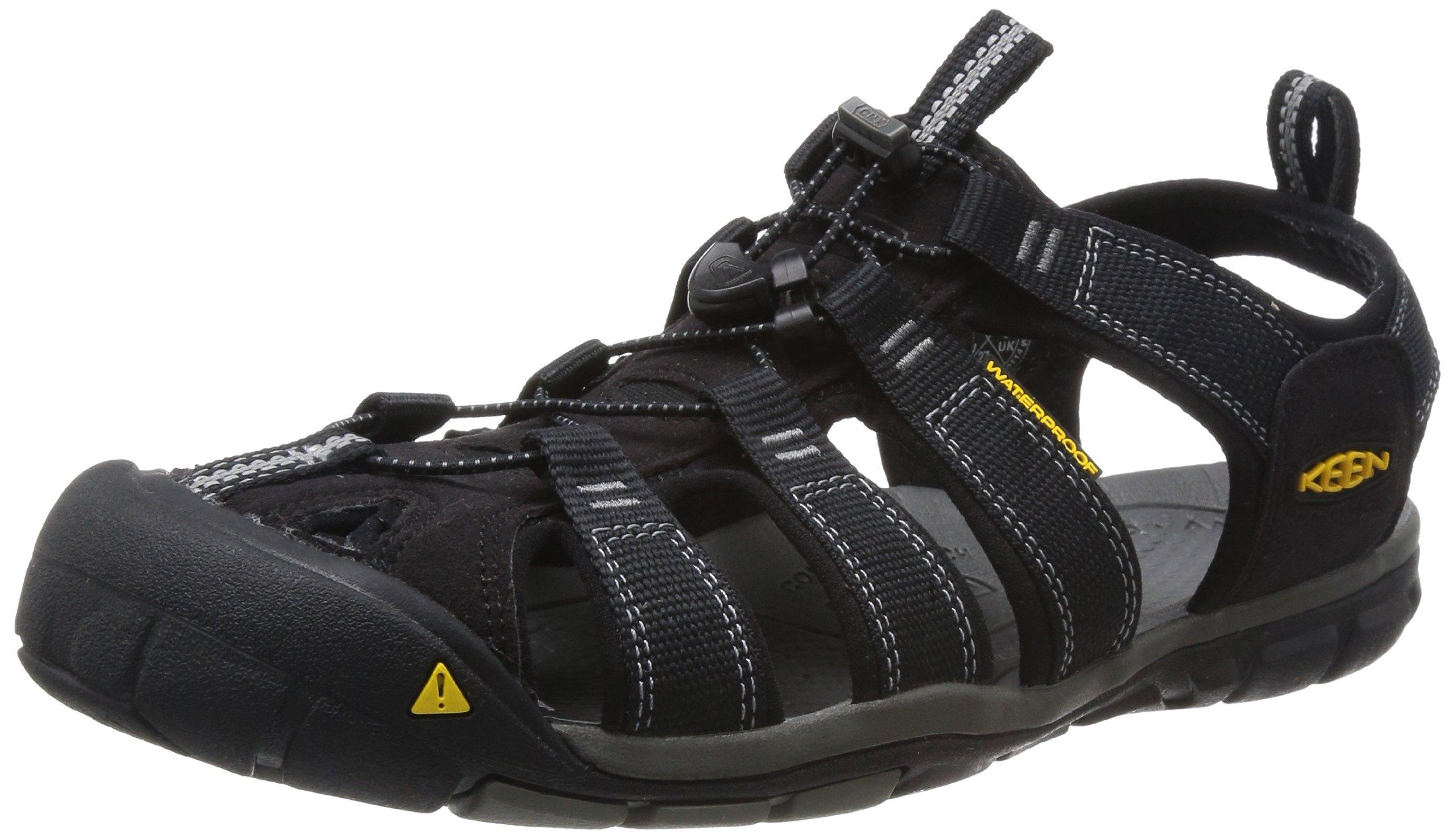 Keen Herren Clearwater Cnx Sandalen Trekking-& Wanderschuhe, Schwarz (Black/Garg