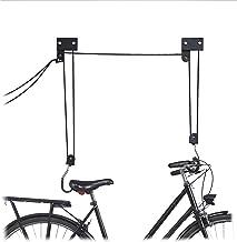 Relaxdays, fiets-plafondlift met haak en touwrem, trekkoord, kajak, fietslift, eenheidsmaat