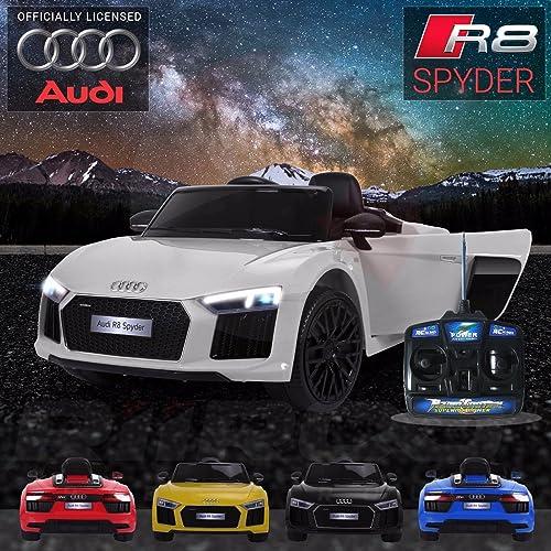 deportes calientes Audi R8 R8 R8 12V para Niños, Mando Parental  tienda de pescado para la venta