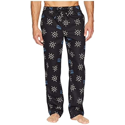 Life is Good Classic Sleep Pants (Night Black) Men