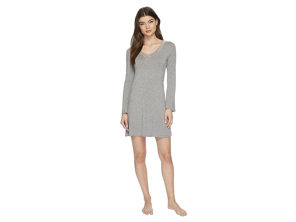 Natori Feather Essentials Sleepshirt (Heather Grey) Women