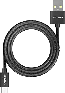 Koluman KD-34 Cable Micro, Charge+ Transfer (Sync and Charging), Compatible with Samsung Systems, Samsung Galaxy S7 S6 S5 ...