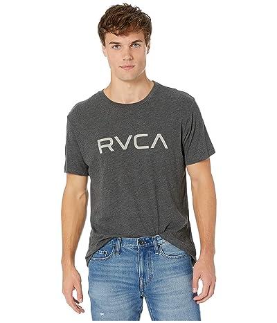 RVCA Big RVCA T-Shirt Shot Sleeve (Black) Men