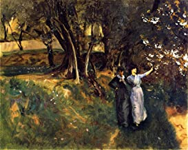 John Singer Sargent Landscape with Women in The Foreground 1883 Philadelphia Museum of Art 30