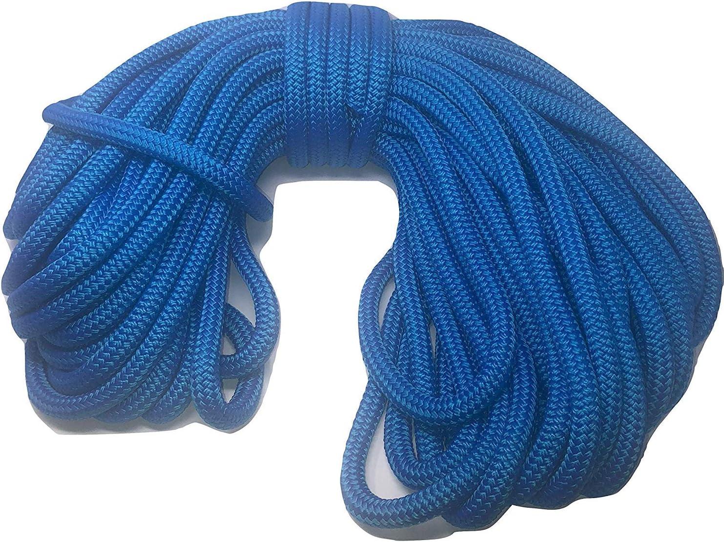 3 4 Inch Blue Double Rope Nylon Free Shipping New Nashville-Davidson Mall Braid