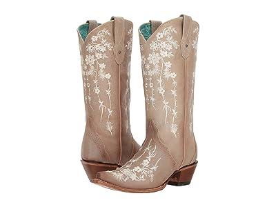 Corral Boots C3178 (Bone) Cowboy Boots