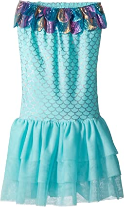 Nylon Spandex Mermaid Swimming Tail (Little Kids)