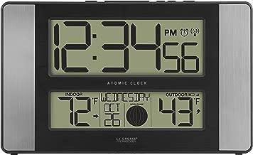 La Crosse Technology 513-1417AL-INT Atomic Clock w Outdoor Temp