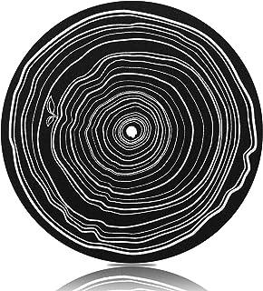 Turntable Mat for Vinyl LP Record Players,LP Slip Mat 7.8-inch Diameter Anti Static, Vibration Dampening,Enhance Sound Per...