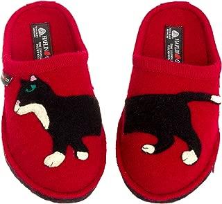 Women's Boiled Wool Slippers - Babsy Cat European Indoor House Shoe